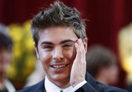 Actor Zac Efron arrives at the 82nd Academy Awards in Hollywood, March 7, 2010. REUTERS/Lucas Jackson