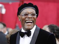 """<p>Samuel L. Jackson chega à 82a cerimônia dos Oscars em Hollywood. Jackson e Kellan Lutz estão negociando a participação no filme """"Deathgames"""", um filme independente de ação que começa as filmagens na próxima semana nos EUA. 08/03/2010 REUTERS/Mario Anzuoni</p>"""