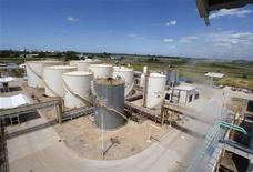 <p>Fabbrica di biodiesel in foto d'archivio. REUTERS/Enrique Marcarian</p>