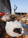 <p>Discarica di rifiuti a Pechino, foto d'archivio. REUTERS/David Gray</p>