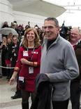 <p>Leonard Nimoy accolto dagli abitanti di Vulcan. REUTERS/Todd Korol (CANADA - Tags: ENTERTAINMENT)</p>