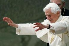 <p>Papa Benedetto XVI. REUTERS/Alessia Pierdomenico</p>