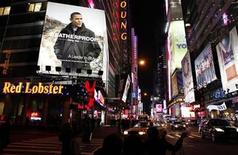 <p>Imagen de archivo de la famosa esquina Times Square, de la ciudad de Nueva York. Ene 6 2010. Nueva York, Chicago y Boston fueron nombradas las ciudades más entretenidas de Estados Unidos, superando a Los Angeles y San Francisco, según indicó un análisis del sitio web Portfolio.com. REUTERS/Lucas Jackson/ARCHIVO</p>