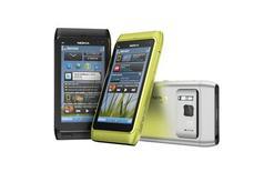 <p>Foto de divulgação do N8, da Nokia. A Nokia, maior fabricante mundial de celulares, revelou nesta terça-feira seu novo smartphone modelo N8, que contará com o novo software Symbian 3.27/04/2010.REUTERS/Handout</p>