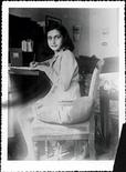 <p>Anna Frank. REUTERS/STR New</p>