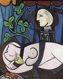 "<p>Pablo Picasso's 1932 painting ""Nu au Plateau de Sculpteur (Nude, Green Leaves and Bust)"" is seen in this handout image released to Reuters on May 4, 2010. REUTERS/CHRISTIE'S IMAGES LTD. 2010/Handout</p>"