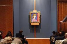 <p>Asta a Sotheby's, foto d'archivio. REUTERS/Joshua Lott</p>