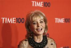 <p>Journalist Barbara Walters arrives for the Time 100 Gala in New York May 5, 2009. REUTERS/Lucas Jackson</p>
