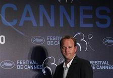 <p>Director Xavier Beauvois arrives to attend a news conference for the film Des hommes et des dieux (Of Gods and Men) in competition at the 63rd Cannes Film Festival May 18, 2010. REUTERS/Vincent Kessler</p>