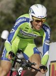 <p>Il ciclista italiano Ivan Basso. REUTERS/Denis Balibouse (SWITZERLAND - Tags: SPORT CYCLING)</p>