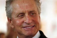 <p>Honoree Michael Douglas arrives for The Film Society of Lincoln Center's 2010 Chaplin Award Gala honoring him in New York City May 24, 2010. REUTERS/Jessica Rinaldi</p>