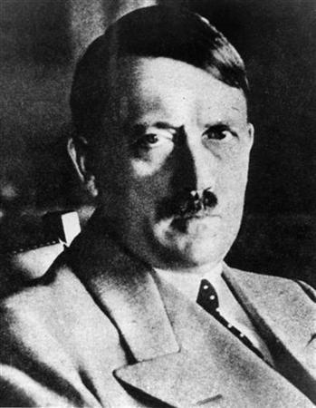 This picture shows an undated file picture of the German ''Fuehrer'' Adolf Hitler. REUTERS/Stringer