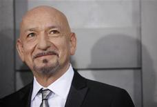 "<p>Cast member Ben Kingsley arrives at the premiere of the movie ""Shutter Island"" in New York February 17, 2010. REUTERS /Natalie Behring</p>"