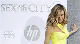 """<p>A atriz Sarah Jessica Parker chega para a première do filme """"Sex And The City 2"""", em Nova York, 24 de maio de 2010. REUTERS/Lucas Jackson</p>"""
