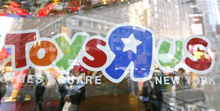 The entrance to the Toys ''R'' Us Times Square store is seen in New York, October 19, 2009. REUTERS/Shannon Stapleton