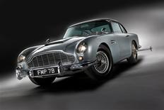 <p>James Bond's 1964 Aston Martin DB5 in an undated image. REUTERS/RM Auctions/Shooterz</p>