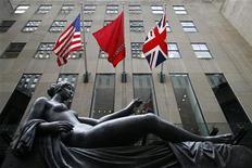 <p>Аукционный дом Christie's в Нью-Йорке 29 октября 2009 года. На межсезонной распродаже классических картин на аукционе Christie's в среду преобладала библейская тематика. REUTERS/Chip East</p>