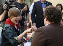 <p>O astro teen canadense Justin Bieber já é veterano em promover sua música e imagem. 04/06/2010 REUTERS/Brendan McDermid</p>