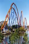 <p>The Behemoth rollercoaster at Wonderland Park in Toronto. REUTERS/Handout</p>