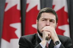 <p>Maher Arar pauses during a news conference in Ottawa in this January 26, 2007 file photo. REUTERS/Chris Wattie</p>