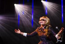 <p>U.S. singer Melody Gardot performs during the 43rd Montreux Jazz Festival in Montreux, July 17, 2009. REUTERS/Valentin Flauraud</p>