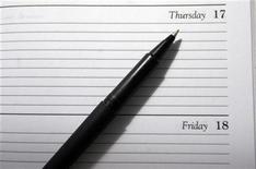 <p>A generic picture of a diary. REUTERS/Catherine Benson</p>