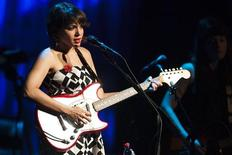 <p>U.S. singer Norah Jones performs onstage during the 44th Montreux Jazz Festival in Montreux July 3, 2010. REUTERS/Valentin Flauraud</p>