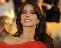 "<p>Colombian actress Sofia Vergara from the comedy series ""Modern Family"" arrives at the 16th annual Screen Actors Guild Awards in Los Angeles January 23, 2010. REUTERS/Phil McCarten</p>"