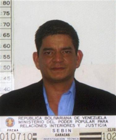 Salvadorean Francisco Chavez Abarca is seen in this undated handout photo released by the Venezuelan Ministry of Interior and Justice on July 3, 2010. REUTERS/Ministry of Interior and Justice/Handout
