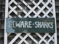 "<p>""Beware of Sharks"" sign on a storefront in Edgartown, Martha's Vineyard, which served as the fictional resort town of Amity Island in the 1975 Steven Spielberg blockbuster ""Jaws."" REUTERS/Lauren Keiper/Handout</p>"
