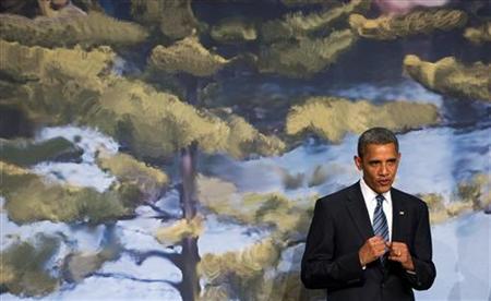 President Obama at the 2010 G8 Summit in Huntsville, Canada, June 25, 2010. REUTERS/Saul Loeb/Pool