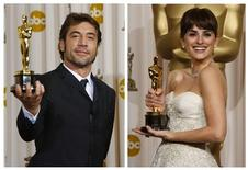 <p>Spanish actors Javier Bardem and Penelope Cruz have joined the ranks of Oscar-winning married couples after tying the knot in the Bahamas earlier this month, according to several celebrity magazines on July 13, 2010. REUTERS/Mike Blake/Files</p>