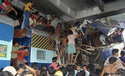 Train collision in West Bengal