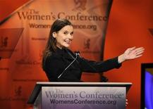<p>Actress Geena Davis speaks at the Women's Conference 2009 in Long Beach, California in this October 27, 2009 file photo. REUTERS/Phil McCarten</p>