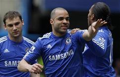 <p>Zagueiro Alex, do Chelsea, irá desfalcar o time devido a uma lesão. 13/03/2010 REUTERS/Stefan Wermuth</p>