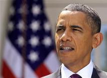 """<p>Presidente Barack Obama fala sobre votação pela reforma financeira no Senado, em Washington. Obama aparecerá na quinta-feira no talk show feminino """"The View."""" 26/07/2010 REUTERS/Jim Young</p>"""