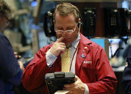 A trader works on the floor of the New York Stock Exchange July 28, 2010. REUTERS/Brendan McDermid
