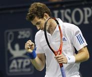 <p>O escocês Andy Murray é o quarto melhor tenista do mundo. 31/07/2010 REUTERS/Danny Moloshok</p>