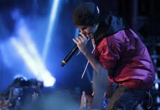 <p>Singer Justin Bieber performs at the 2010 MuchMusic Video Awards in Toronto June 20, 2010. REUTERS/Mark Blinch</p>