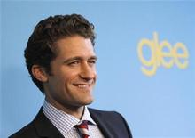 "<p>Cast member Matthew Morrison poses at a party to celebrate the premiere of the second season of the television series ""Glee"" in Los Angeles April 12, 2010. REUTERS/Mario Anzuoni</p>"