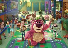 "<p>A scene from ""Toy Story 3"". REUTERS/Disney/Pixar</p>"