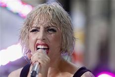 <p>Lady Gaga durante show em New York. 09/07/2010. REUTERS/Lucas Jackson</p>