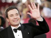 "<p>NBC's ""Late Night with Jimmy Fallon"" host Jimmy Fallon arrives at the 61st annual Primetime Emmy Awards in Los Angeles, California September 20, 2009. REUTERS/Danny Moloshok</p>"