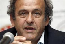 <p>Árbitros ruins não têm lugar no futebol e não serão mais tolerados pela Uefa, disse o presidente da entidade, Michel Platini, na quinta-feira. REUTERS/David Mdzinarishvili</p>