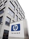 <p>A HP elevou sua oferta pela empresa de armazenamento de dados 3PAR para 1,8 bilhão de dólares, superando, mais uma vez, a proposta melhorada de 1,6 bilhão de dólares anunciada pela Dell na manhã desta quinta-feira. REUTERS/Thierry Roge</p>