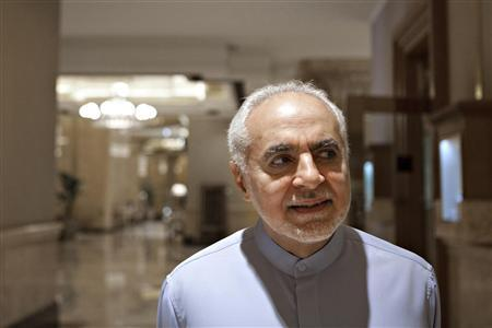 Imam Feisal Abdul Rauf, executive director of the Cordoba Initiative, poses at a hotel in Abu Dhabi August 29, 2010. REUTERS/Leo Hoagland