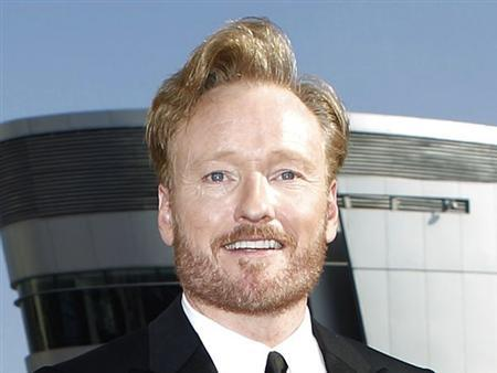 Late night talk show host Conan O'Brien poses at the 62nd annual Primetime Emmy Awards in Los Angeles, California August 29, 2010. REUTERS/Mario Anzuoni
