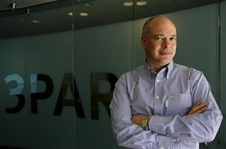 David Scott, President and Chief Executive of 3Par Inc, poses for a photograph at the company's headquarters in Fremont, California August 27, 2010. REUTERS/Robert Galbraith
