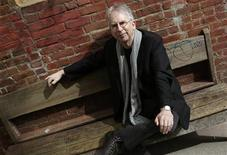<p>Author Peter Carey poses for a photograph in New York City's Soho neighborhood in this picture taken April 19, 2010. REUTERS/Mike Segar</p>
