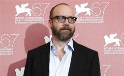 "<p>Actor Paul Giamatti poses during a photocall for the movie ""Barney's version"" at the 67th Venice Film Festival September 10, 2010. REUTERS/Tony Gentile</p>"
